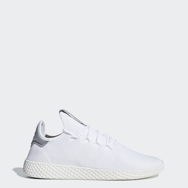 Pharrell Williams Tennis Hu Sko Hvit