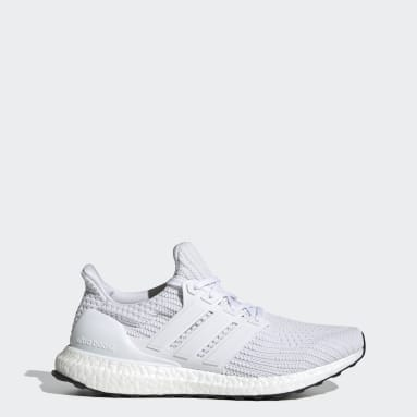Men's Running White Ultraboost 4.0 DNA Shoes