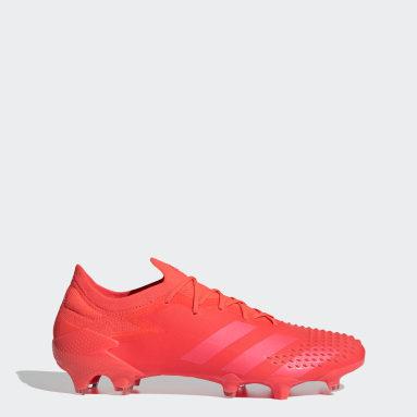 Botas Futebol Predator Mutator 20.1 – Piso firme Vermelho Futebol