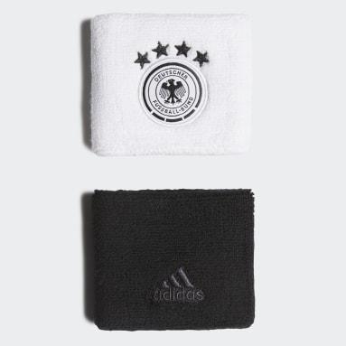 Fußball DFB Schweißbänder Weiß