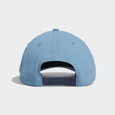 Men Golf Blue Circle Patch Snapback Hat