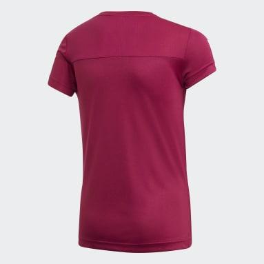 Camiseta Equipment Granate Niña Training