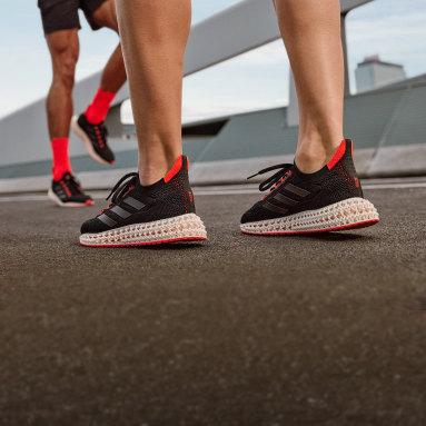 Erkek Koşu Siyah adidas 4D Glide Ayakkabı