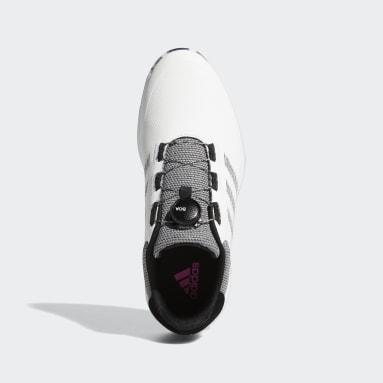 Men's Golf White S2G BOA Spikeless Golf Shoes