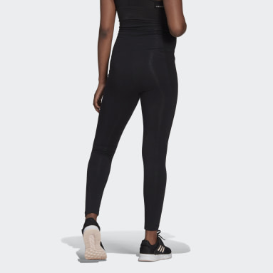 Women Sportswear Black Essentials Cotton Leggings (Maternity)