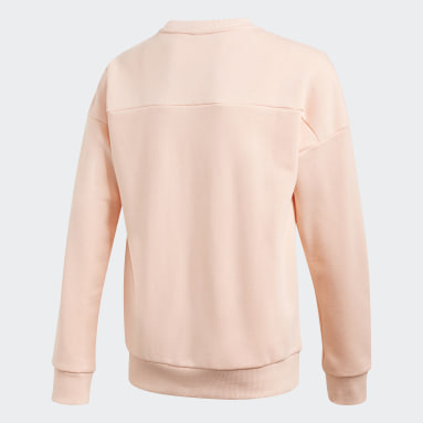 Sweat-shirt Must Haves Crew Rose Filles Fitness Et Training