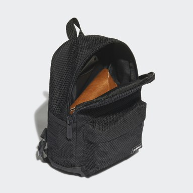 Women Lifestyle Black Tailored for Her Mesh Backpack Small