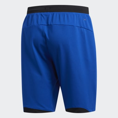 Men Gym & Training Blue 4KRFT Sport Badge of Sport Shorts