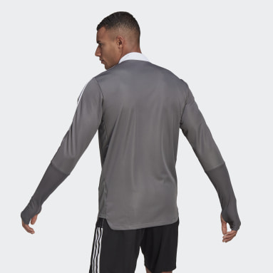 Men Football Grey Tiro 21 Training Top