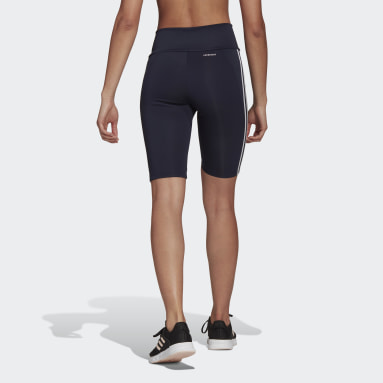 Women Gym & Training Blue Designed To Move High-Rise Short Sport Tights