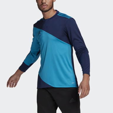 Football Blue Squadra 21 Goalkeeper Jersey