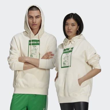 Originals White Yoda Hoodie (Gender Neutral)