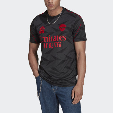Men's Soccer Black Arsenal FC x 424 Jersey
