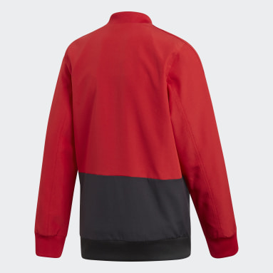 Kids Gym & Training Red Condivo 18 Presentation Jacket