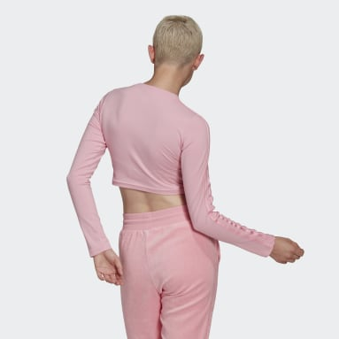Dames Originals Roze LOUNGEWEAR Cropped Longsleeve