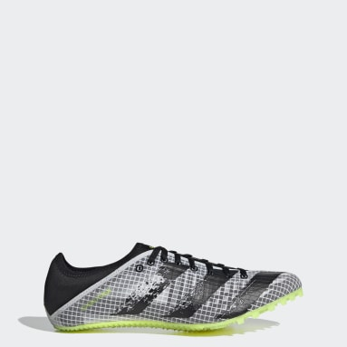 Leichtathletik Sprintstar Spike-Schuh Weiß