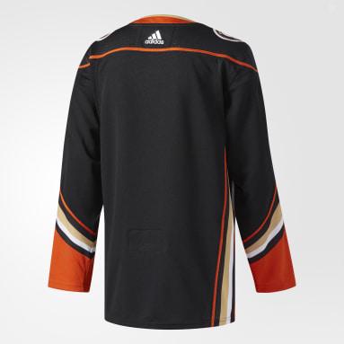 Maillot Ducks Domicile Authentique Pro noir Hockey