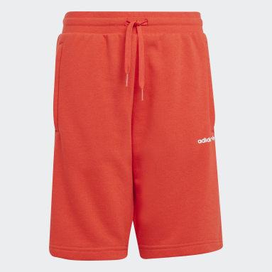 Kids Originals Red Adicolor Shorts
