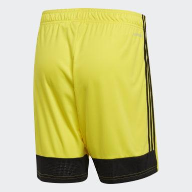 Pantalón corto Tastigo 19 Amarillo Hombre Gimnasio Y Entrenamiento