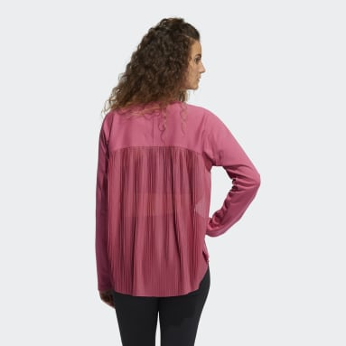 Dames Fitness En Training Roze Dance Layering Pullover