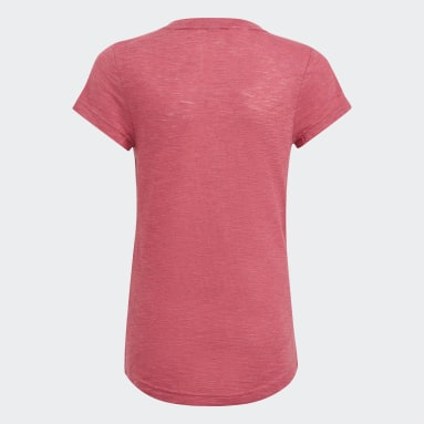 T-shirt Must Haves Rose Filles Fitness Et Training