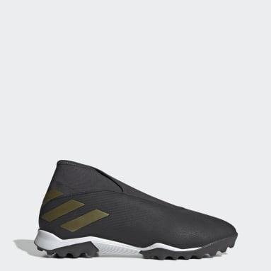 Men Football Black Nemeziz 19.3 Turf Boots