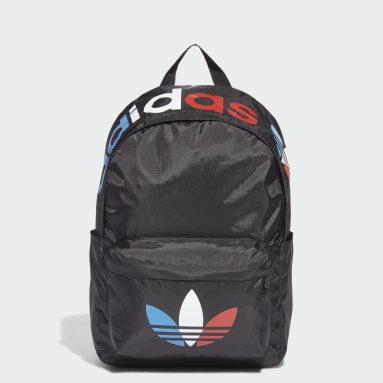 Originals สีดำ กระเป๋าเป้ทรงคลาสสิก Adicolor Tricolor