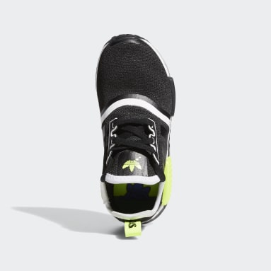 Children Originals Black NMD_R1 Shoes