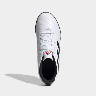 Zapatos de fútbol Goletto VII Pasto Sintético Blanco Niño Fútbol