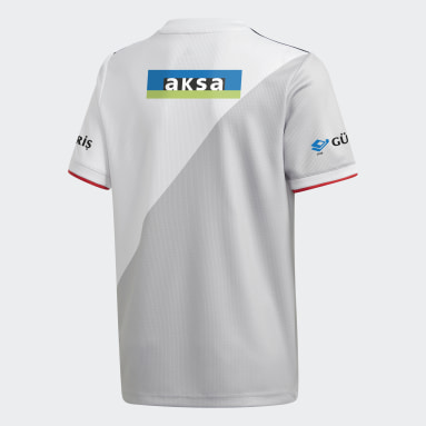 Youth Football White Beşiktaş JK 20/21 Home Jersey