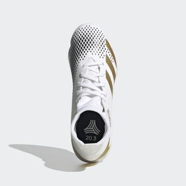 Kids Futsal White Predator Mutator 20.3 Indoor Boots