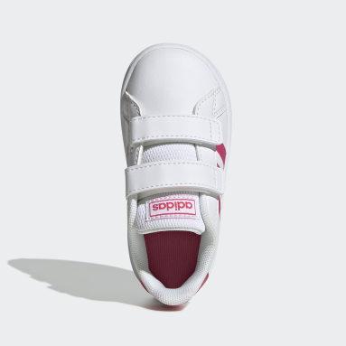Mädchen Freizeit Grand Court Schuh Weiß