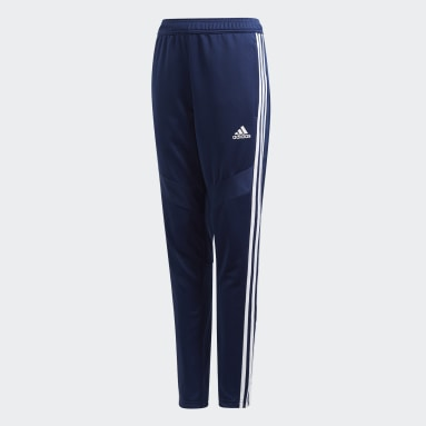 Kids Gym & Training Blue Tiro 19 Training Tracksuit Bottoms