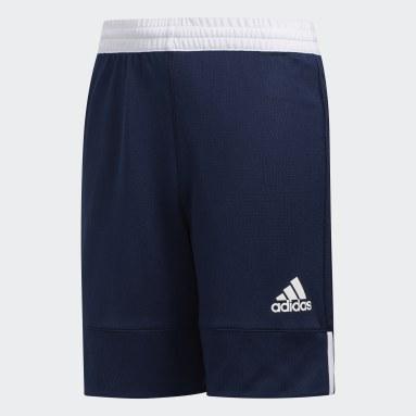 Børn Basketball Blå 3G Speed Reversible shorts