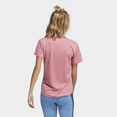 Women Gym & Training Pink Go To 2.0 Tee