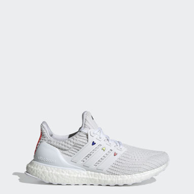 Women Running White Ultraboost 4.0 DNA Valentines Day Shoes