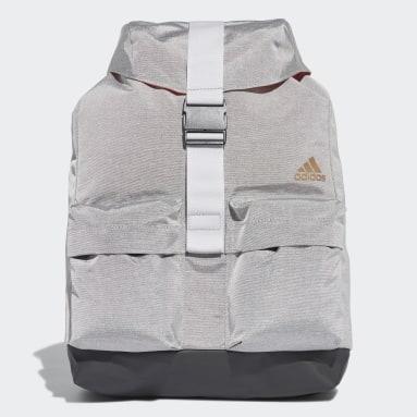 Women Gym & Training Grey ID Backpack