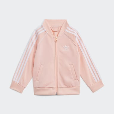 Kids Originals Pink Adicolor SST Tracksuit