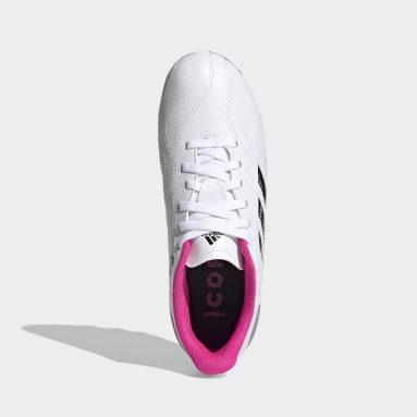 Boys Football White Copa Sense.4 Flexible Ground Boots