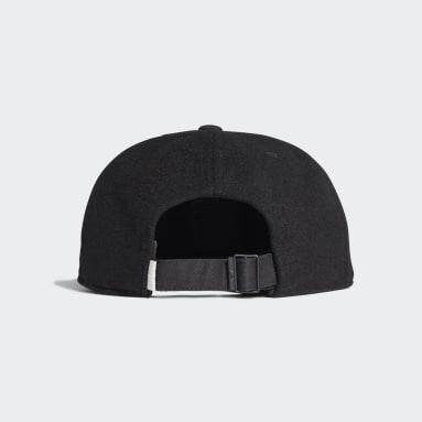 Originals Black Wool Grandad Cap