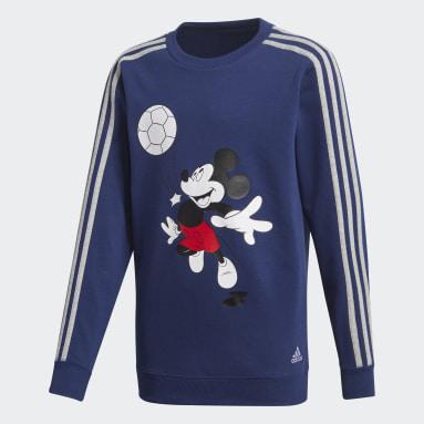 Chándal Football Azul Niño Gimnasio Y Entrenamiento