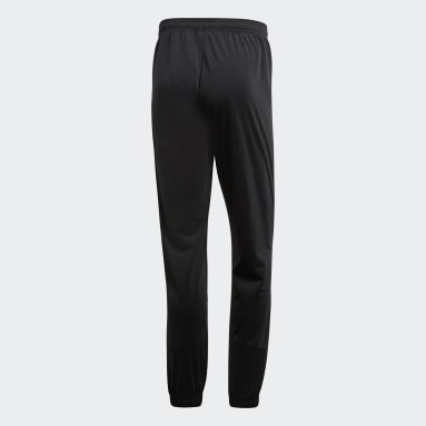 Men Gym & Training Black Core 18 Tracksuit Bottoms