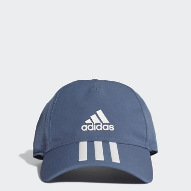 Gym & Training Blue C40 3-Stripes Climalite Cap