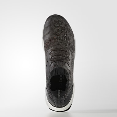 Running Grey Ultra Boost Uncaged Shoes