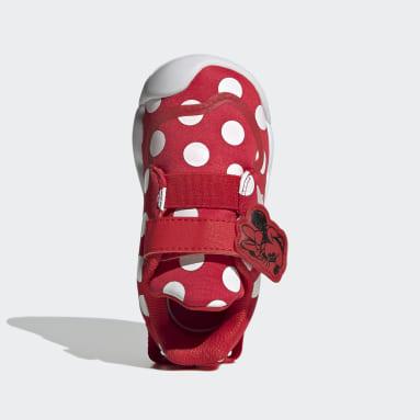 Zapatilla Disney Minnie Mouse Active Play Rojo Niño Gimnasio Y Entrenamiento