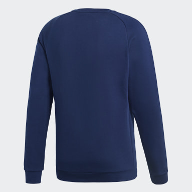 Men Gym & Training Blue Core 18 Sweatshirt