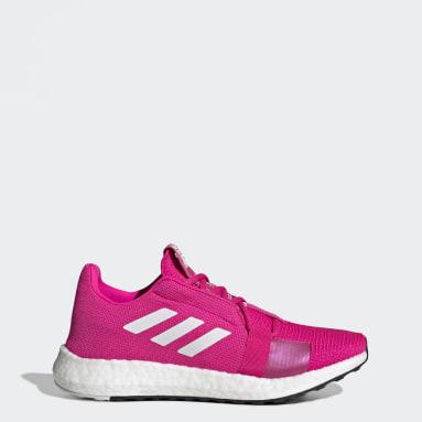 Women Running Pink Senseboost Go Shoes