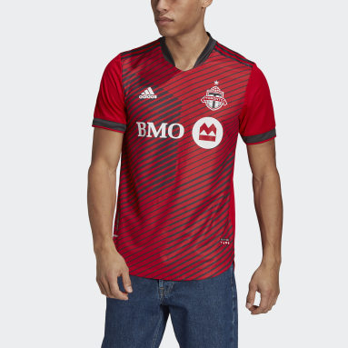 Men Soccer Red Toronto FC 21/22 Home Authentic Jersey
