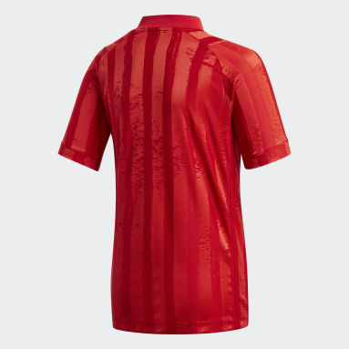 T-SHIRT GARÇONS FREELIFT TENNIS rouge Adolescents Tennis
