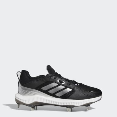 Women's Softball Black PureHustle Cleats